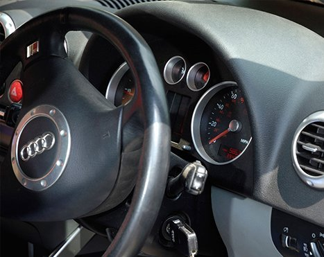 Audi car dashboard